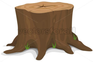 Tree Stump - Vectorsforall