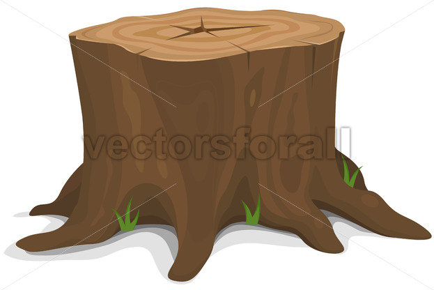Tree Stump - Vectorsforall
