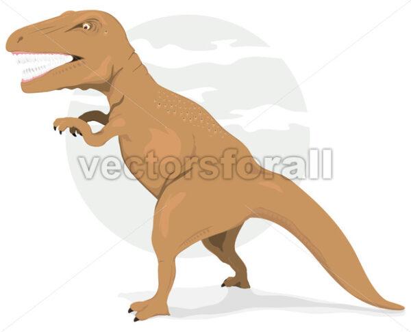 Tyrannosaurus Rex Dinosaur - Vectorsforall