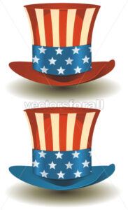 Uncle Sam's Top Hat For American Holidays - Vectorsforall