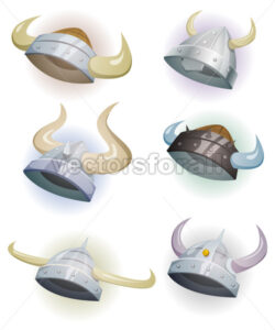 Viking Helmet Set - Vectorsforall