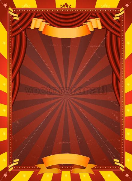 Vintage Circus Poster - Benchart's Shop