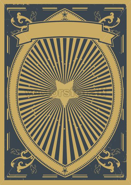 Vintage Retro Poster Background - Benchart's Shop