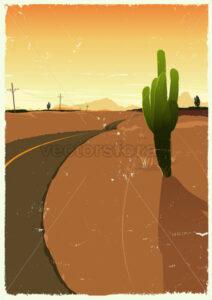 Western Desert Road - Benchart's Shop