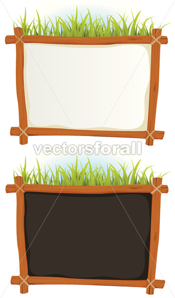 Wood Frame With Sign - Benchart's Shop