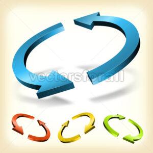 abstract-circular-recycle-arrow.eps - Benchart's Shop
