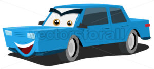 cartoon-car-character.eps - Benchart's Shop