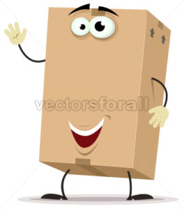 cartoon-cardboard-character.eps - Benchart's Shop