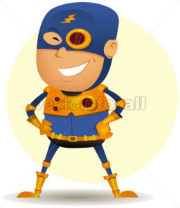 cartoon-comic-super-hero-character-eight.eps - Benchart's Shop