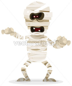 cartoon-halloween-mummy-character.eps - Benchart's Shop