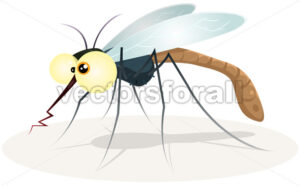 cartoon-mosquito.eps - Benchart's Shop