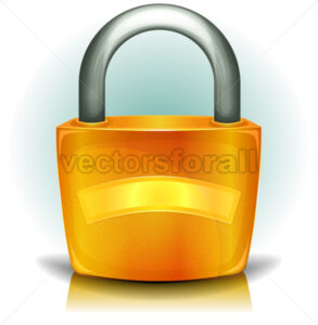 cartoon-padlock.eps - Benchart's Shop