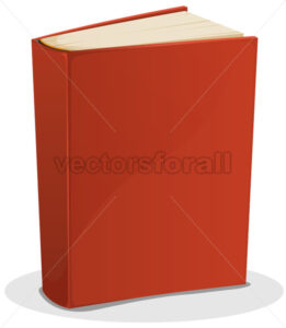 cartoon-red-book-isolated.eps - Benchart's Shop
