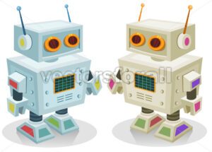 cartoon-robot-toy.eps - Benchart's Shop