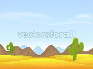 cartoon-scrapbook-desert-landscape.eps - Benchart's Shop