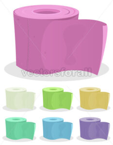 cartoon-toilet-paper.eps - Benchart's Shop