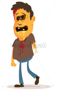 cartoon-zombie-character.eps - Benchart's Shop