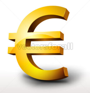 golden-euro-currency.eps - Benchart's Shop