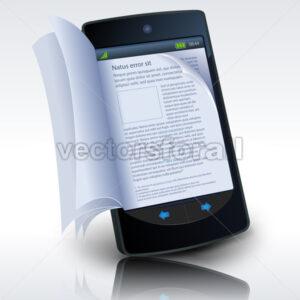 smartphone-ebook-reading.eps - Benchart's Shop