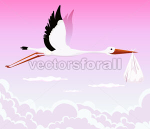 stork-holding-girl-in-the-sky.eps - Benchart's Shop