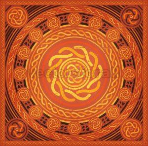 Abstract Mandala Background - Vectorsforall