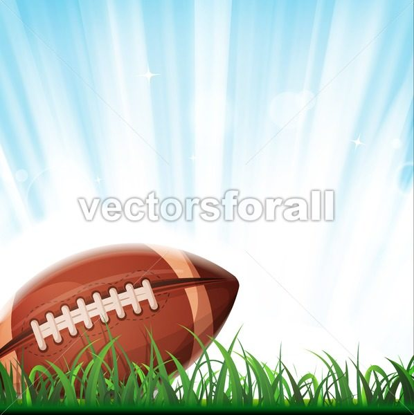American Football Background - Vectorsforall