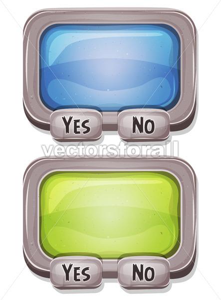 Answer Box For Ui Game - Vectorsforall
