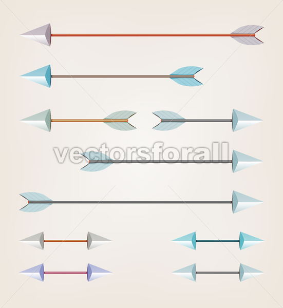 Arrows For Bow - Vectorsforall