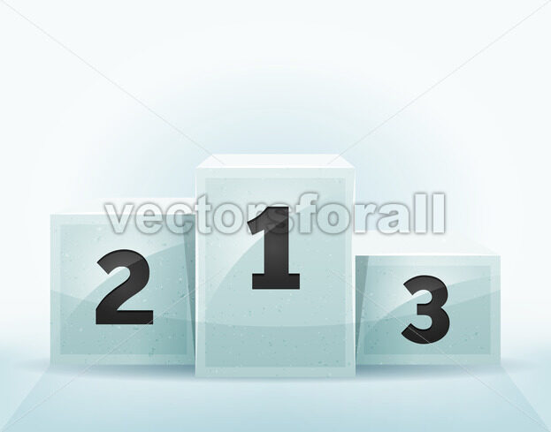 Awards Winners Podium - Vectorsforall