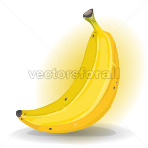 Banana Fruit - Vectorsforall