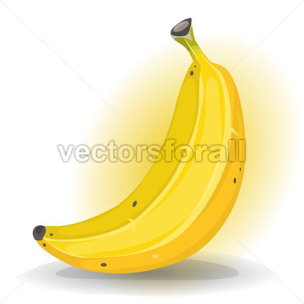 Banana Fruit - Vectorsforall