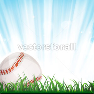 Baseball Background - Vectorsforall