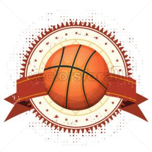 Basketball Grunge And Vintage Banner - Vectorsforall