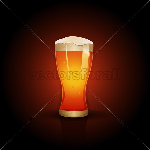 Beer Background Design - Vectorsforall