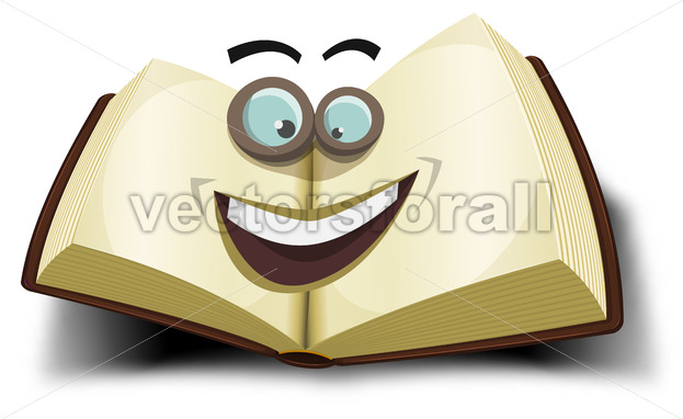 Big Book Character Icon - Vectorsforall