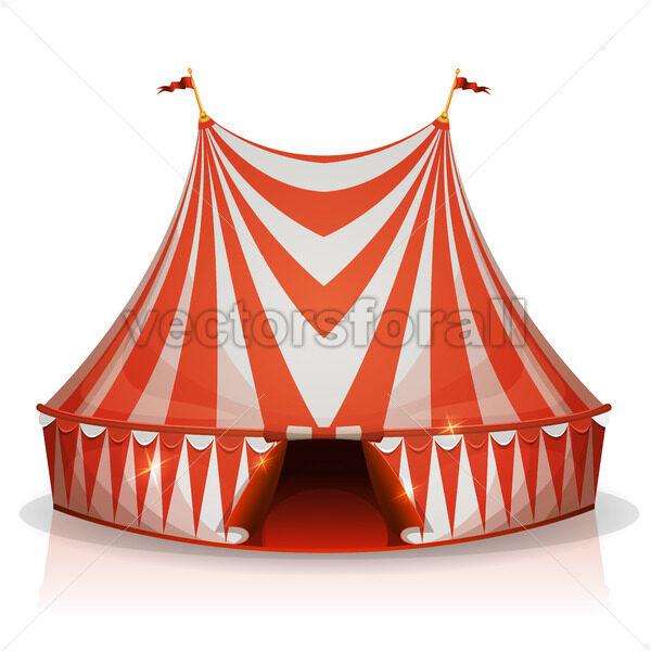 Big Top Circus Tent - Vectorsforall