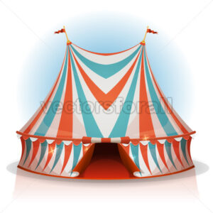 Big Top Circus Tent - Vectorsforall