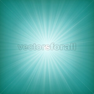 Blue Starburst Background - Vectorsforall