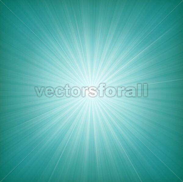 Blue Starburst Background - Vectorsforall