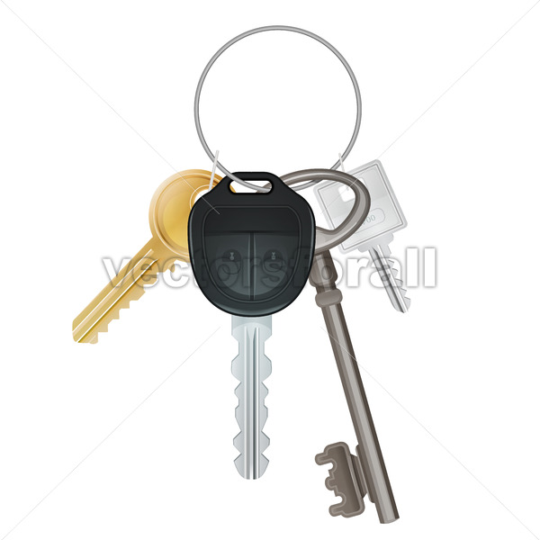 Bunch Of Keys - Vectorsforall