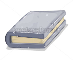 Cartoon Stone Book - Vectorsforall