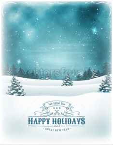 Christmas Holidays And New Year Background - Vectorsforall