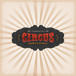 Circus Background With Texture - Vectorsforall
