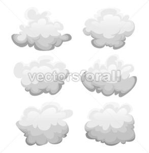Clouds Set - Vectorsforall