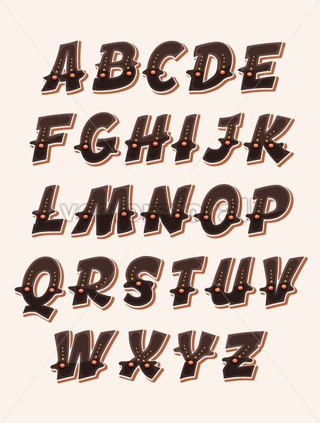 Comic Funny ABC Font - Vectorsforall