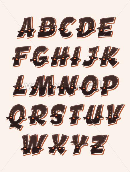 Comic Funny ABC Font - Vectorsforall