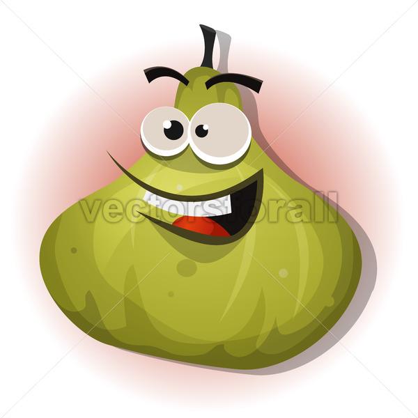 Comic Funny Fig Character - Vectorsforall