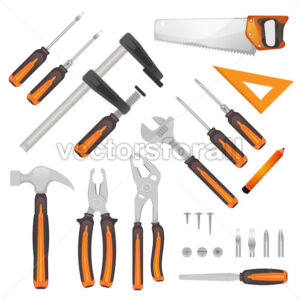 DIY Tools Set - Vectorsforall