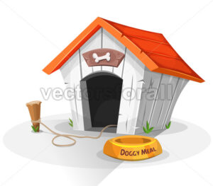 Dog House - Vectorsforall