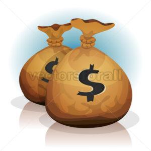 Dollar Bags - Vectorsforall